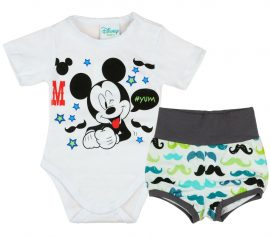 f2ca9d8a10 Disney Mickey fiú nyári 2 részes body/short szett Bajusz - Pindurka  Bababolt! - A minőségi babatermékek webáruháza!