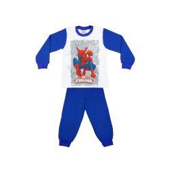 Pókember mintás fiú hosszú pizsama