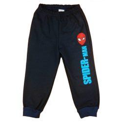Pókember belül bolyhos fiú szabadidő nadrág