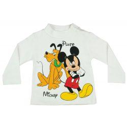 Disney Mickey és Plútó fiú hosszú ujjú póló