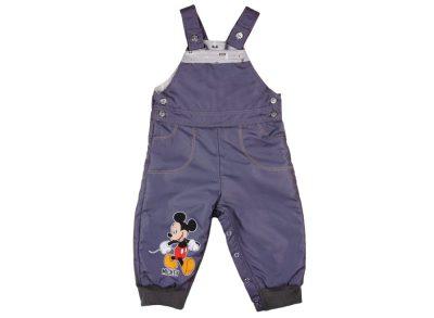 Disney Minnie lányka vízlepergetős bélelt kertésznadrág