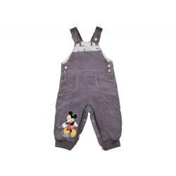 Disney Mickey fiú bélelt kord kertésznadrág