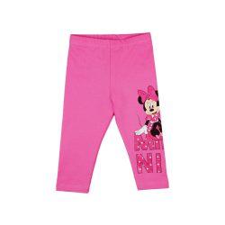 Disney Minnie lányka belül bolyhos  hosszú leggings nagy mintával