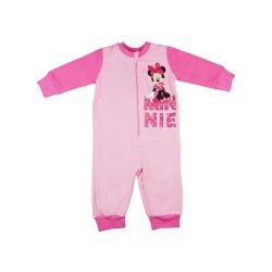 Disney Minnie belül bolyhos lányka overálos pizsama