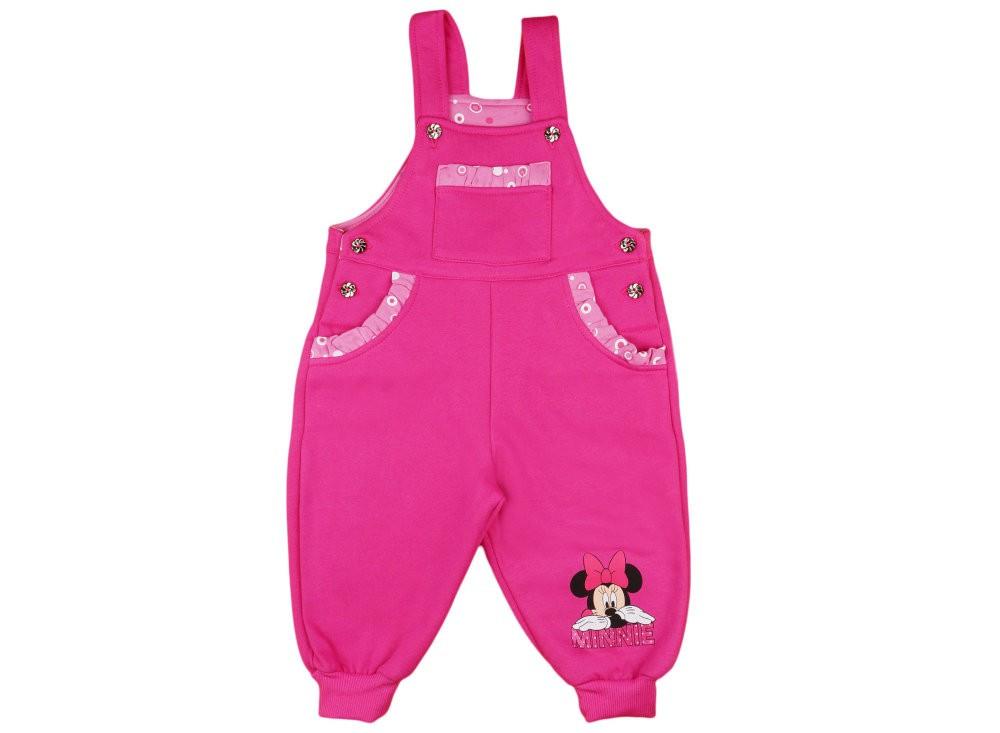 Disney Minnie lányka belül bolyhos kertésznadrág - Pindurka e651c6548d