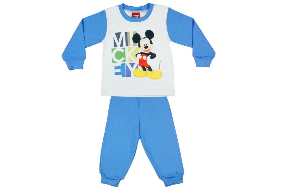 Disney Mickey mintás fiú pizsama felirattal - Pindurka 29f51c22d5