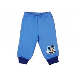 Disney Mickey fiú belül bolyhos szabadidő nadrág zsebbel