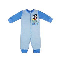 Disney Mickey belül bolyhos overálos pizsama