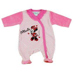 Disney Minnie hosszú ujjú baba plüss rugdalózó