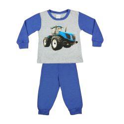 Traktor mintás fiú hosszú pizsama
