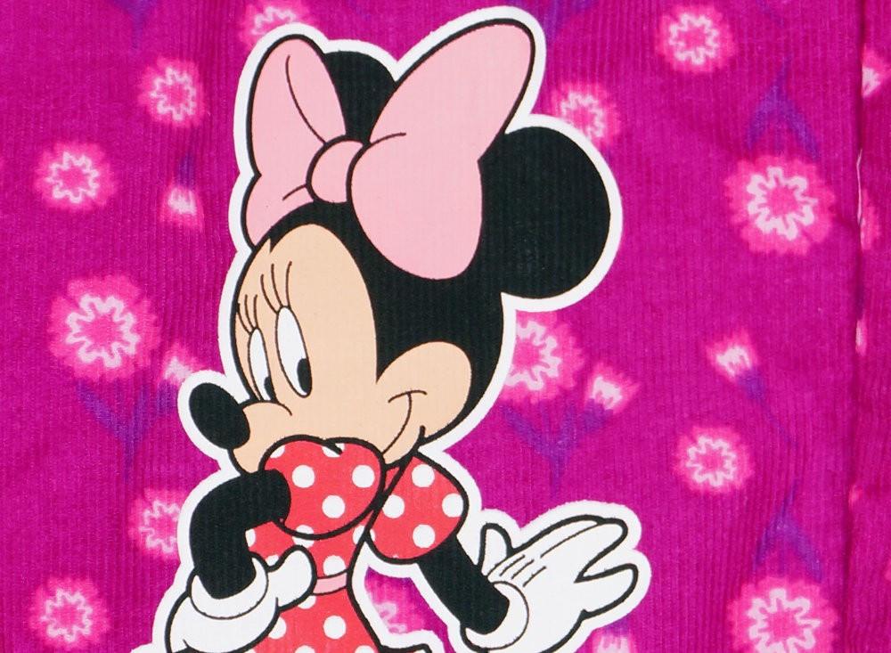 Disney Minnie lányka vékony virágos kord kertésznadrág - Pindurka 4b2a3349ea