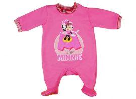 Disney Minnie belül bolyhos hosszú ujjú rugdalózó glitteres ... 8e65ffd075