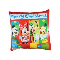 Disney Mickey| Minnie és Barátaik wellsoft/pamut díszpárna Karácsony