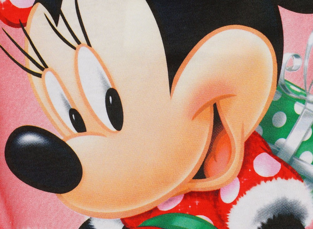 eb0e06aad2 Disney Minnie Mikulás mintás hosszú ujjú kombidressz - Pindurka