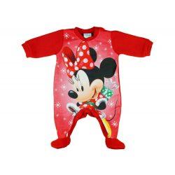 Disney Minnie Mikulás belül bolyhos hosszú ujjú rugdalózó Karácsony