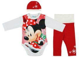 Disney Minnie 3 részes (sapka+nadrág+body) szett Karácsony - Pindurka  Bababolt! - A minőségi babatermékek webáruháza! d936d2601f
