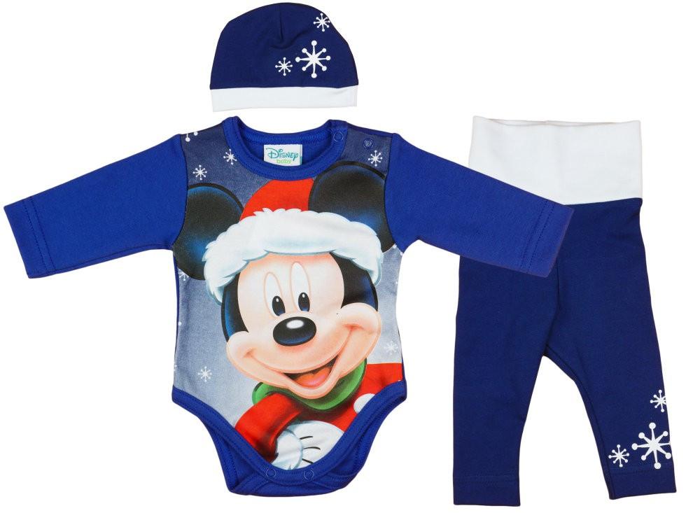 21e907ed1f Disney Mickey 3 részes (sapka+nadrág+body) szett Karácsony ...