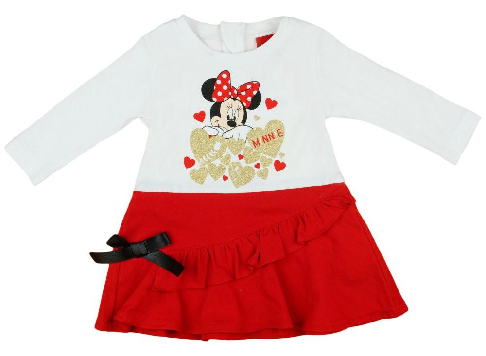 Disney Minnie hosszú ujjú lányka ruha 79c74ce54e