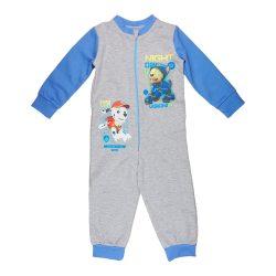 Paw Patrol-Mancs őrjárat fiú overálos pizsama