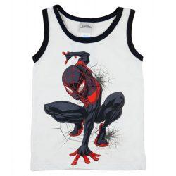 Pókember kisfiú fehér atléta