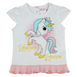 Unicorn Queen Unikornis kislány póló