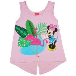 Disney Minnie flamingós| csillámos kislány nyári top