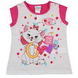 Disney Marie cica rövid ujjú lányka póló