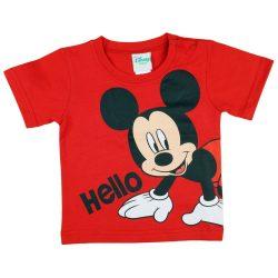 Disney Mickey póló Hello