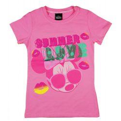 Disney Minnie nyári mintás lány póló