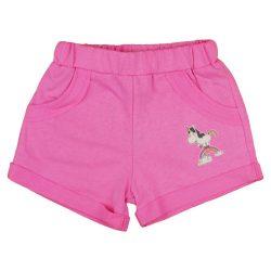 Unikornis kislány pink rövidnadrág