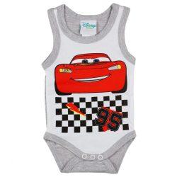 Disney Cars-Verdák ujjatlan baba body (kombidressz)