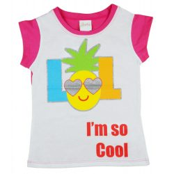 Lány glitteres nyári póló