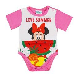 Disney Minnie kislány body (kombidressz) Dinnyés