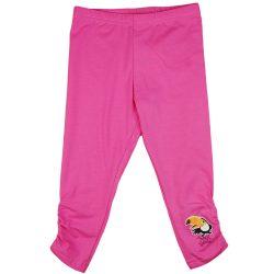 Tukán mintás húzott szárú lányka leggings