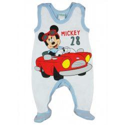 Disney Mickey ujjatlan vékony pamut rugdalózó