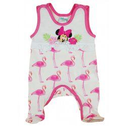 Disney Minnie flamingós ujjatlan baba rugdalózó