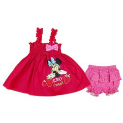 Disney Minnie 2 részes baba napozó szett