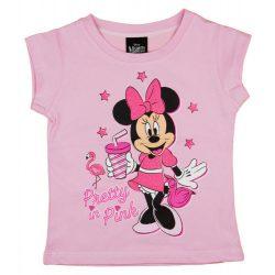 Disney Minnie csillámos rövid ujjú kislány póló
