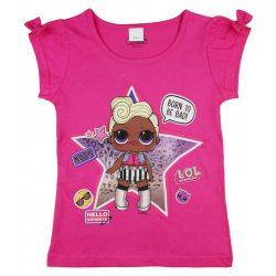 LOL pink| kislány rövid ujjú póló