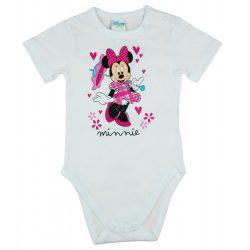 Disney Minnie rövid ujjú babal body fehér