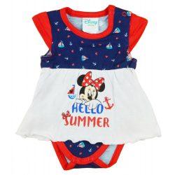 """Disney Minnie """"Hello summer"""" tengerész stílusú szoknyás body kék"""