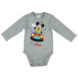 Mickey hosszú ujjú baba body