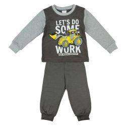 Markoló mintás kétrészes fiú pizsama