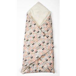 Rombuszos 2in1 pólya és takaró