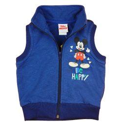 """Disney Mickey """"Be happy"""" pamut cipzáras mellény"""