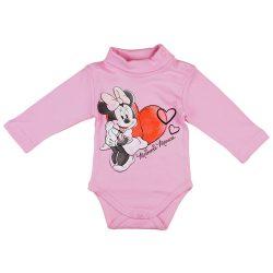 Disney Minnie szíves garbós baba body