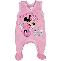 Disney Minnie nyuszis| ujjatlan| belül bolyhhos rugdalózó