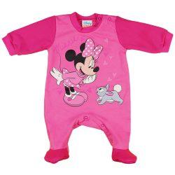 Disney Minnie nyuszis| belül bolyhos| hosszú ujjú rugdalózó
