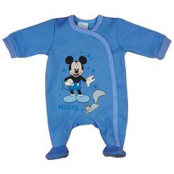 Disney Mickey mókusos  belül bolyhos hosszú ujjú rugdalózó