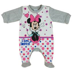 """Disney """"I am loved"""" Minnie hosszú ujjú rugdalózó"""